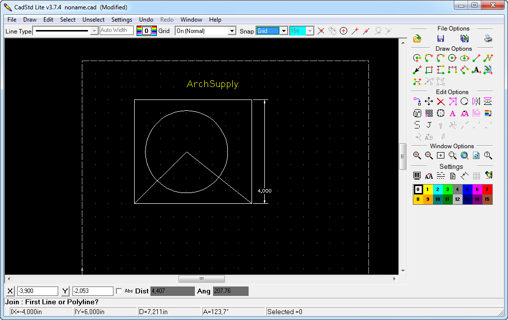 Download free software easy use free cad programs for Online cad drawing software