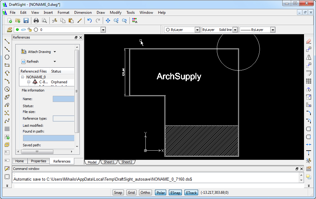 Free cad software archsupply for 2d architectural drawing software free