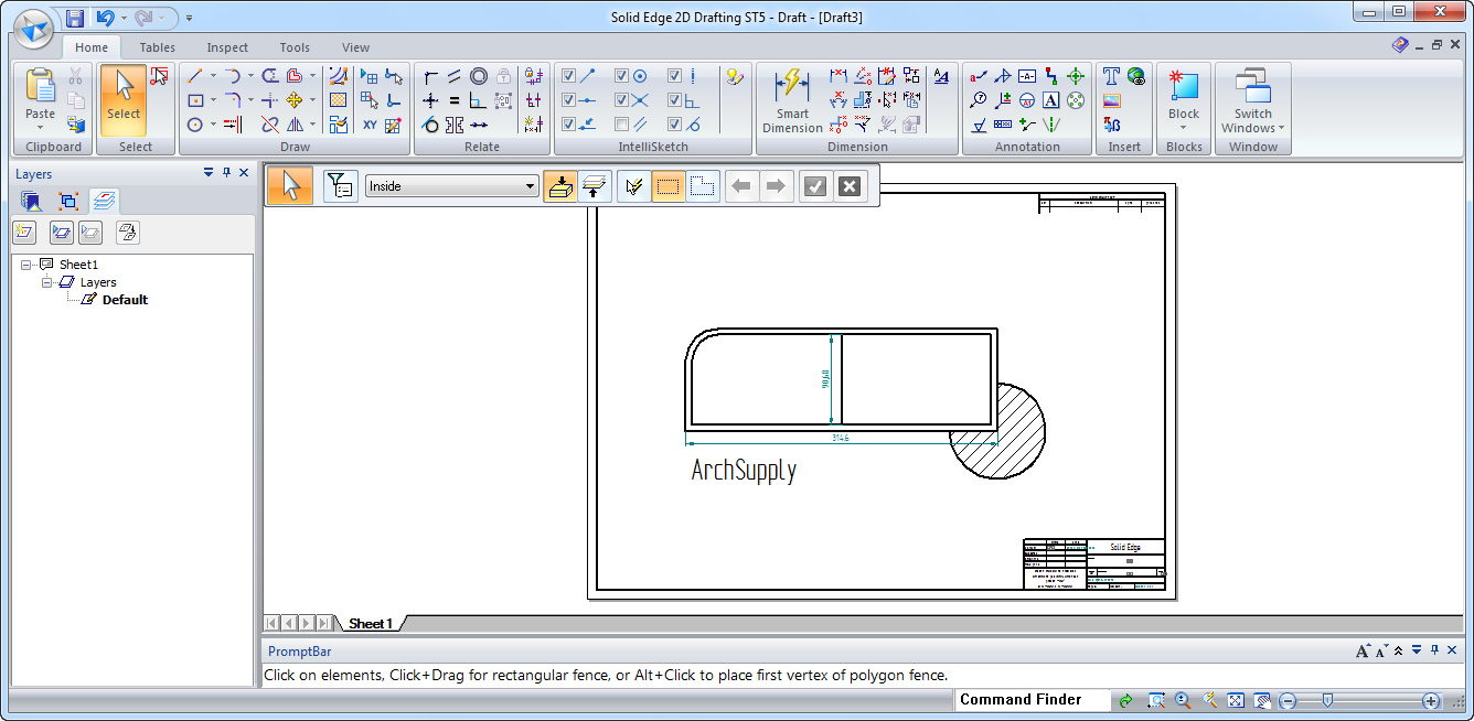 Free cad software archsupply for Online 2d drafting software