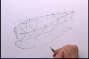 basic perspective form drawing