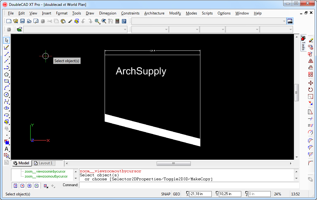Free CAD software - ArchSupply